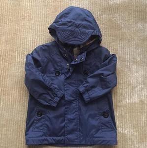 Authentic Burberry toddler rain coat 18mths